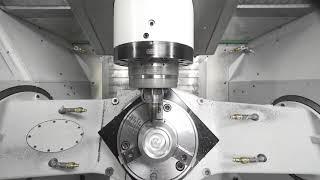 CHIRON FZ 16 S five axis I Kegelradgetriebe (DE)