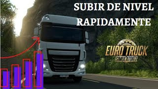 como subir de nivel rapido en eurotruck simulator 2 con cheat engine