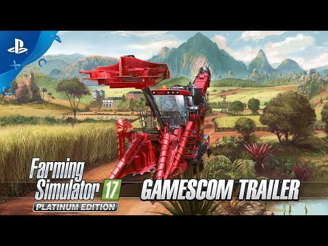 Farming Simulator 17 Platinum Edition - Gamescom 2017 Trailer   PS4