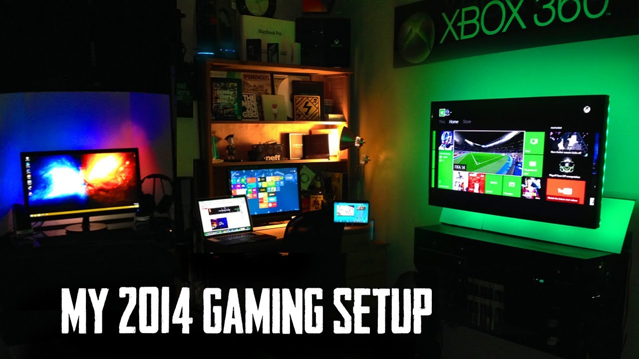 My ultimate gaming setup room tour youtube How to make a gaming setup in your room