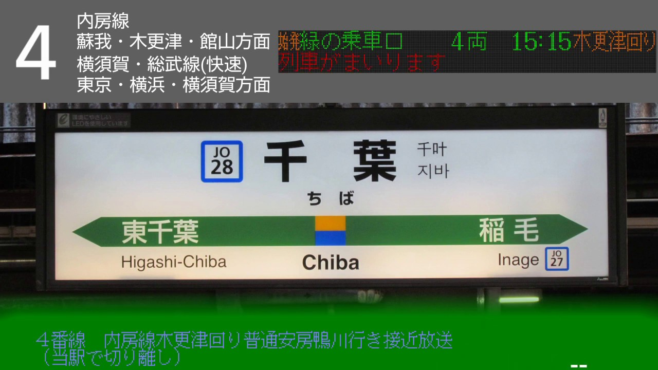 駅 atos 千葉 発車標シミュレーター