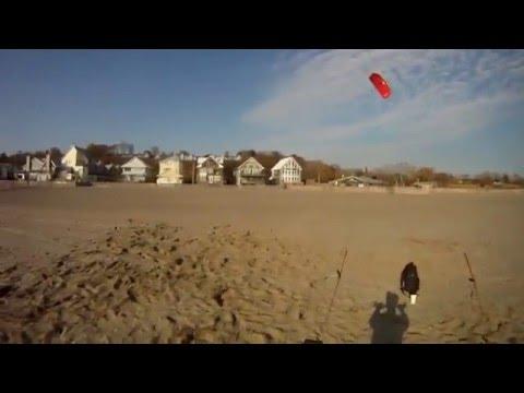 Trainer Kite Flying 2011 Lake Erie Canada.