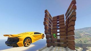 ENTRAR POR AHI? IMPOSIBLE!! - CARRERA GTA V ONLINE - GTA 5 ONLINE