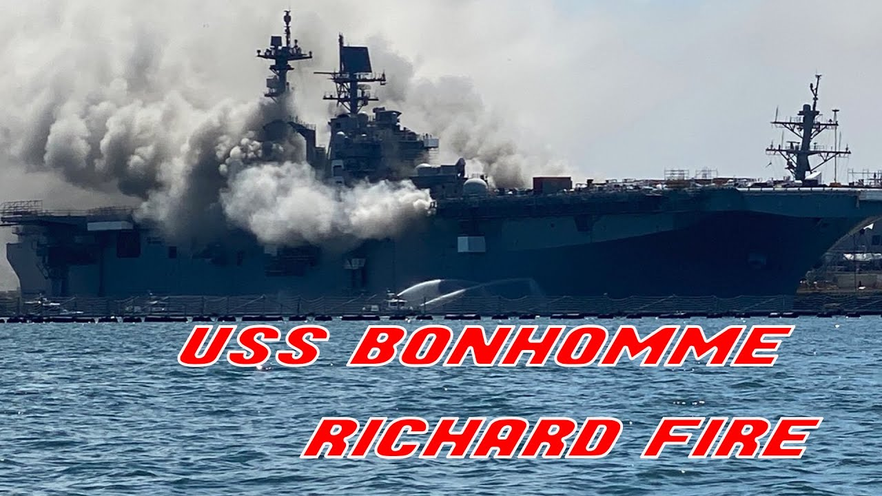 UPDATED: 18 Sailors Injured, Explosion Reported in USS ...