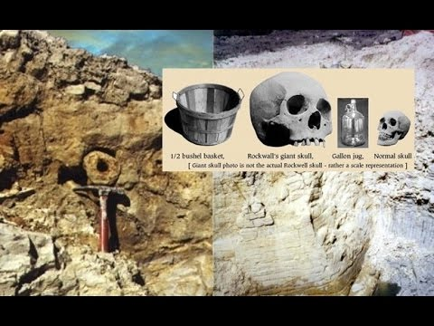 Rockwall, Texas – Inhabited by giants before Noah's flood?