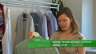 """Raidījums """"Es varu būt zaļš"""" 12.epizode - 20.08. plkst. 19:45"""