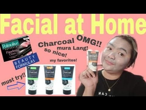 Facial At Home ( Beauty Formulas Charcoal)