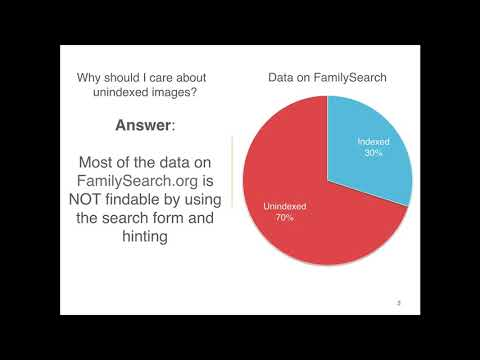FamilySearch - Finding Elusive Records Introduction