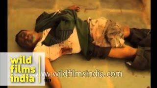 Graphic: Rail crash victims lie on floor: Bangalore-Ernakulam train accident