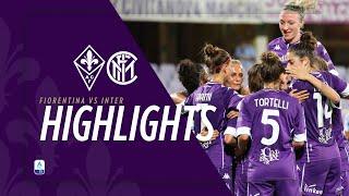 ACF Fiorentina Femminile vs Inter 4-0 | MATCH HIGHLIGHTS | 1° Giornata Serie A Femminile 2020/21