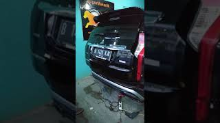 Electric Tailgate Mitsubishi Pajero Sport Soft Close Version