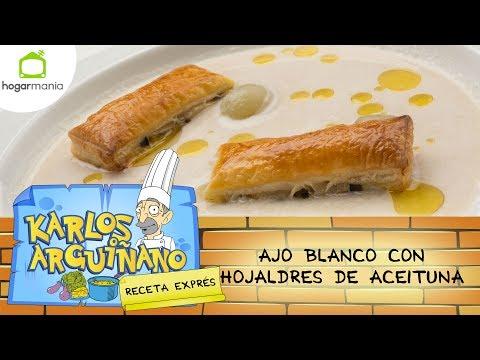 Receta de Ajo blanco por Karlos Arguiñano