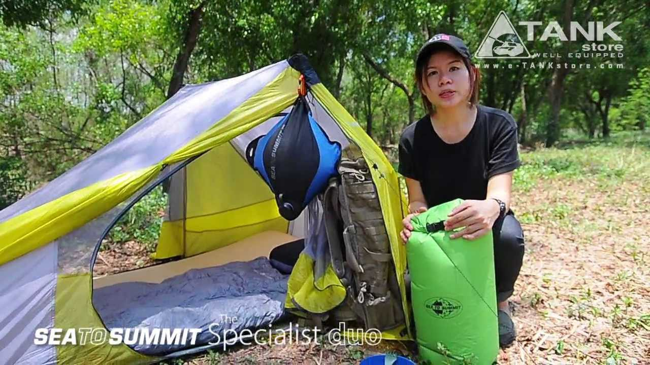 sc 1 st  YouTube & Sea to Summit The Specialist Duo Tent - YouTube