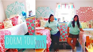 college dorm tour 2015   lilly pulitzer inspired