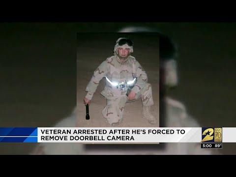 Veteran arrested after