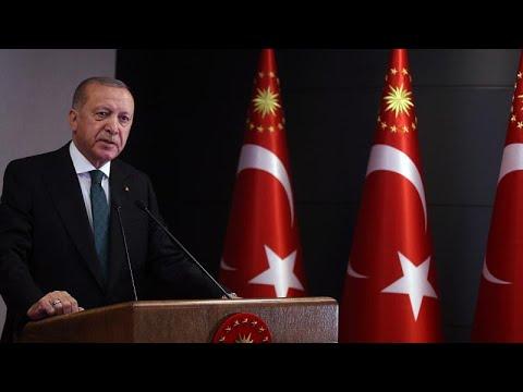 Cumhurbaşkanı Erdoğan, sokağa çıkma kısıtlamasının bu hafta üç gün olacağını açıkladı…