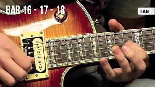 """MELODY THE SPIRIT CARRIES ON - """"Guitar Tutorial"""""""