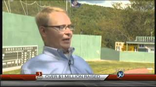 A Decade Of Fun: Mike McCune of WCAX TV Visits With Travis Roy