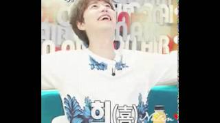 #Kyuhyun This happy boy when MC