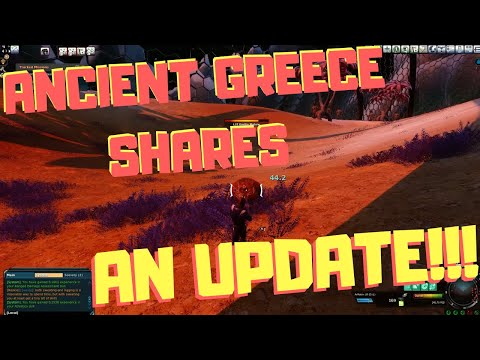 Entropia Universe: Ancient Greece Shares Update And Solo Hunting Kretlin