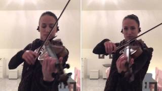 Con te Partiro - (Andrea Bocelli) violon/violin (Céline Prussel violoniste)