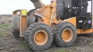 BUCKETMOUTH Stump Grinder - Forestry Mower Harvester - Rock Crusher