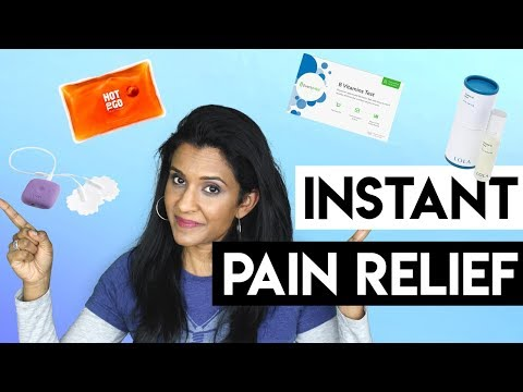 Period pain relief naturally