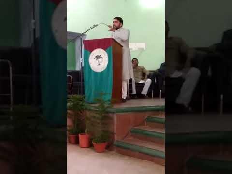 Abu Affan Farooqui || AMU Minority Status || AMUSU || Union Hall
