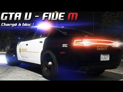 GTA 5 - Law Enforcement Live - Chargé à bloc ! (Five M)