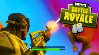A DISRESPECTFUL DAB! - Fortnite Battle Royale with The Crew!