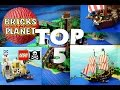 Top 5 Most popular Lego Pirates videos 2016 on my channel