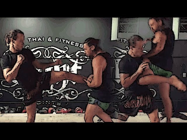 Self Defense in Muay Thai