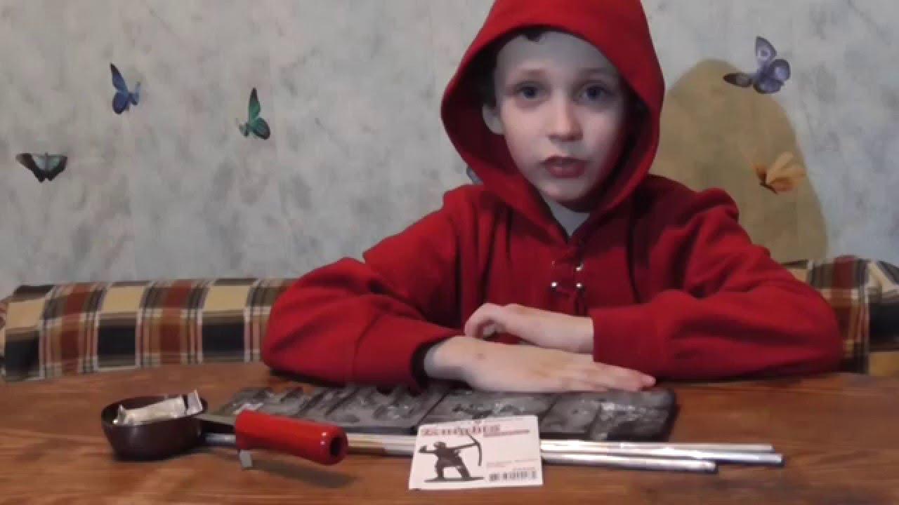 Рождение воина: изготовление оловянного солдатика 29