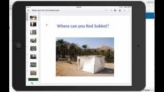 How to use the free IOS/Apple app, Google Slides, for Judaic instruction