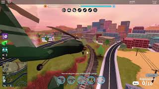Roblox Jailbreak 1Mil$ Army Helicopter