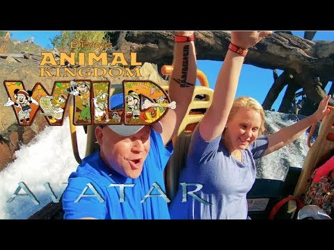 Disney's Animal Kingdom ~ River Ride & Avatar!