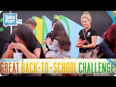 Great Back-to-School Challenge: Jordan High School in Watts Gets a Makeover! | TakePart TV