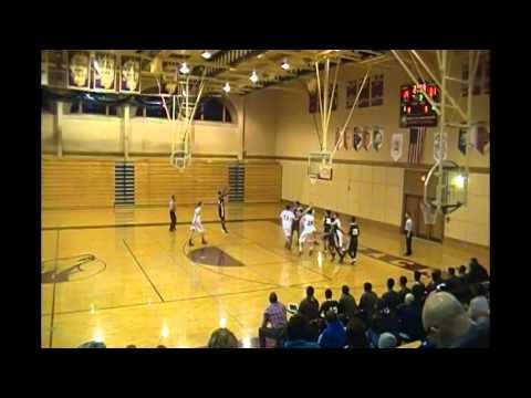 Nick Chambers Mount Carmel High School Basketball Sophomore Year