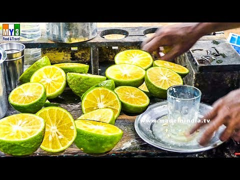 SWEEN LEMON JUICE MAKING | SUMMER SUPER STREET FOOD Street Food
