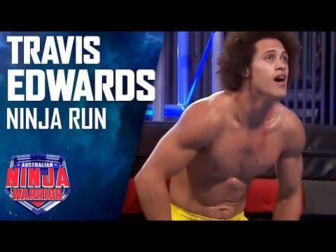Travis Edwards Full Run   Australian Ninja Warrior 2017