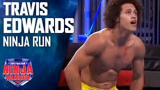 Travis Edwards Full Run | Australian Ninja Warrior 2017