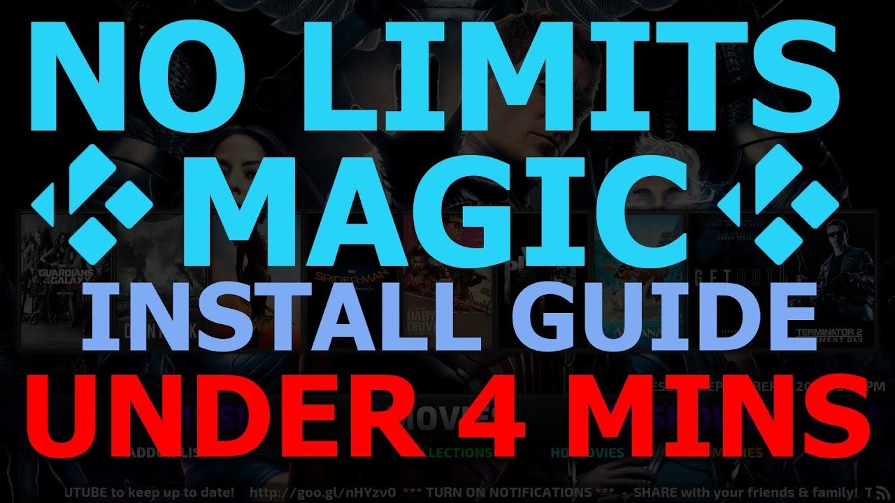 How To Install No Limits Magic Build In Under 4 Minutes