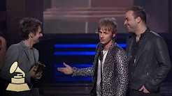 Muse accepting the GRAMMY for Best Rock Album at the 53rd GRAMMY Awards | GRAMMYs