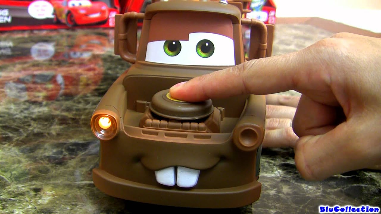 Tow Mater Lights And Sounds Talking Toy Youtube