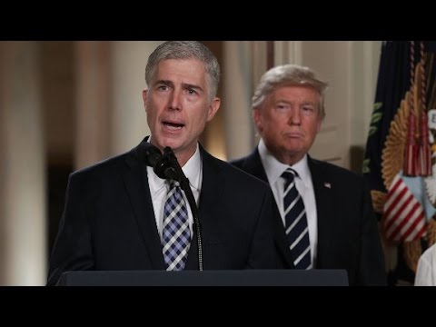 Gorsuch: Trump's judge tweets are demoralizing