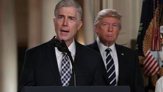 Gorsuch: Trump's judge tweets are demoralizing