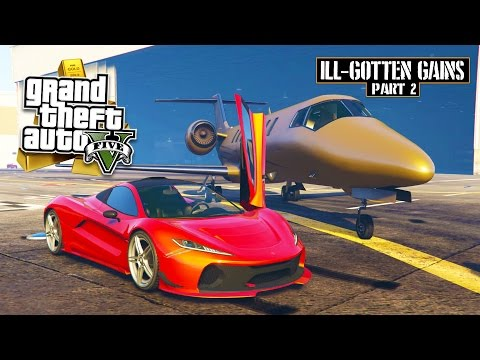 GTA 5 - $16,000,000 Spending Spree! NEW ILL-GOTTEN GAINS PART 2 DLC SHOWCASE! (GTA 5 DLC Gameplay)
