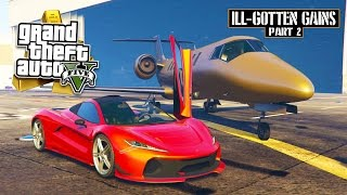 GTA 5 - $16,000,000 Spending Spree! NEW ILL-GOTTEN GAINS PART 2 DLC SHOWCASE! (GTA 5 DLC Gameplay)