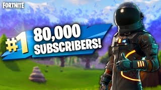 80,000 SUBSCRIBERS!