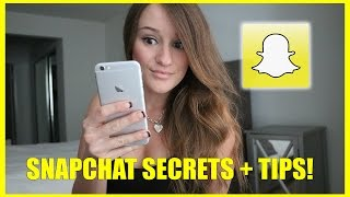 One of Jenna Ezarik's most viewed videos: SNAPCHAT SECRETS + TIPS